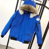 カナダグース メンズ 青い 新作&送料込人気 ダウンジャケット canadagoose044