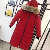 カナダグース レディース 赤色 新作&送料込人気 婦人服 ダウンジャケット canadagoose019